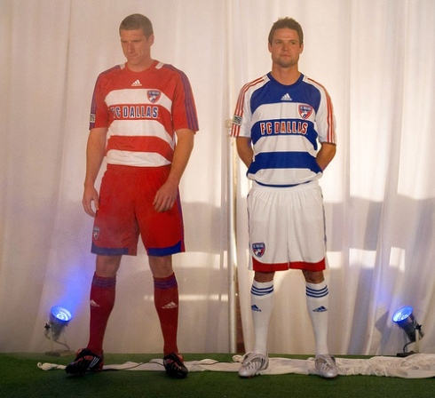 fc dallas new unis